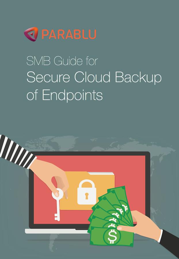 data backup solution for endpoints - Parablu