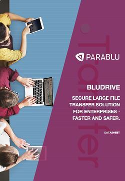 bludrive datasheet. large file transfer