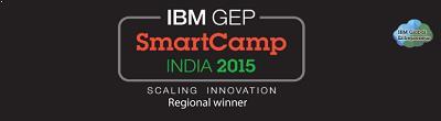 DSCI Excellence Award-IBM GEP Smart Camp Regional Winner