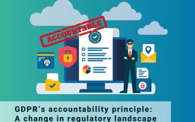 GDPR's Accountability Principle: A change in Regulatory Landscape