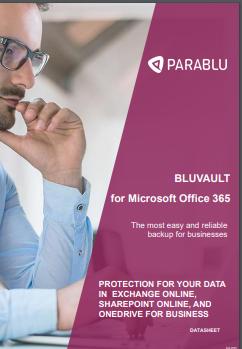 BluVault-office 365 backup