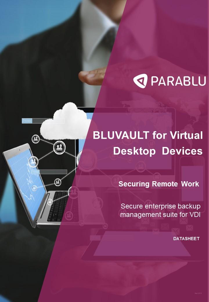 Secure VDI backup-data sheet