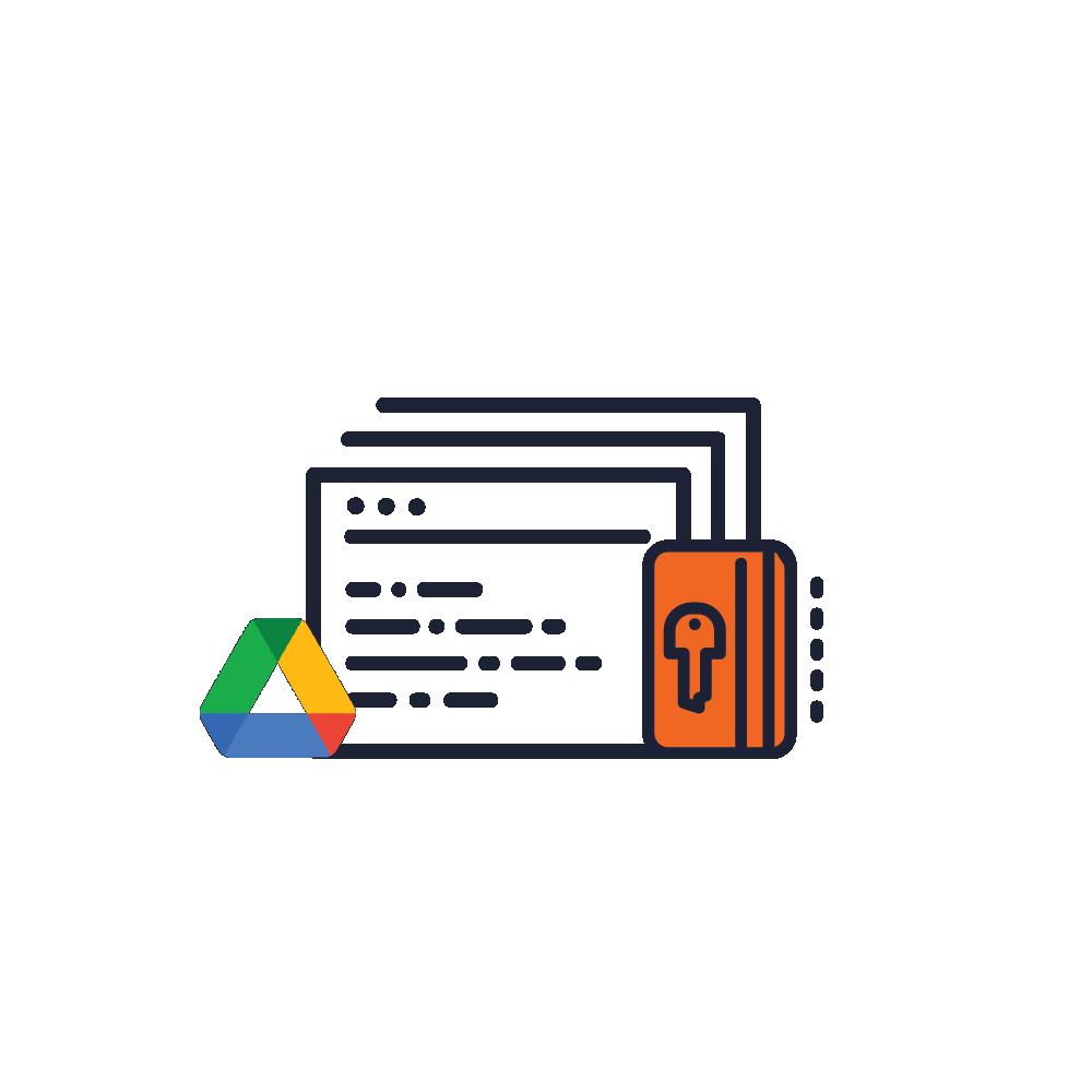 Backup to Google Drive-Fully Encrypted Backup