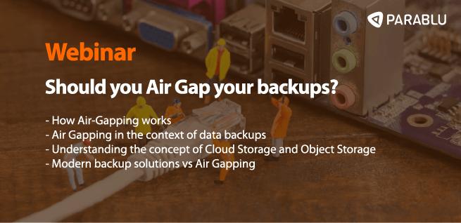 Air Gap Webinar Thumbnail