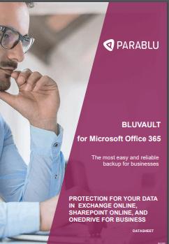 BluVault - Microsoft 365 Backup Solution