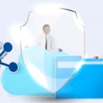 Easy secure file sharing using BluVault