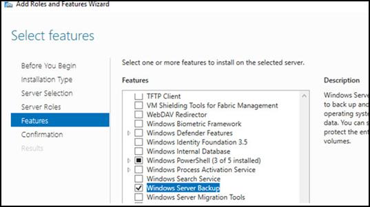 How to restore Windows System State using BluVault - Windows Server