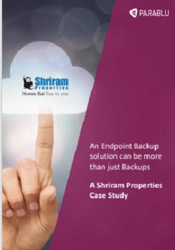 Shriram Properties Case Study
