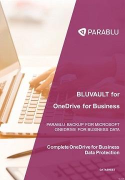 Data sheet - Backup OneDrive for Business